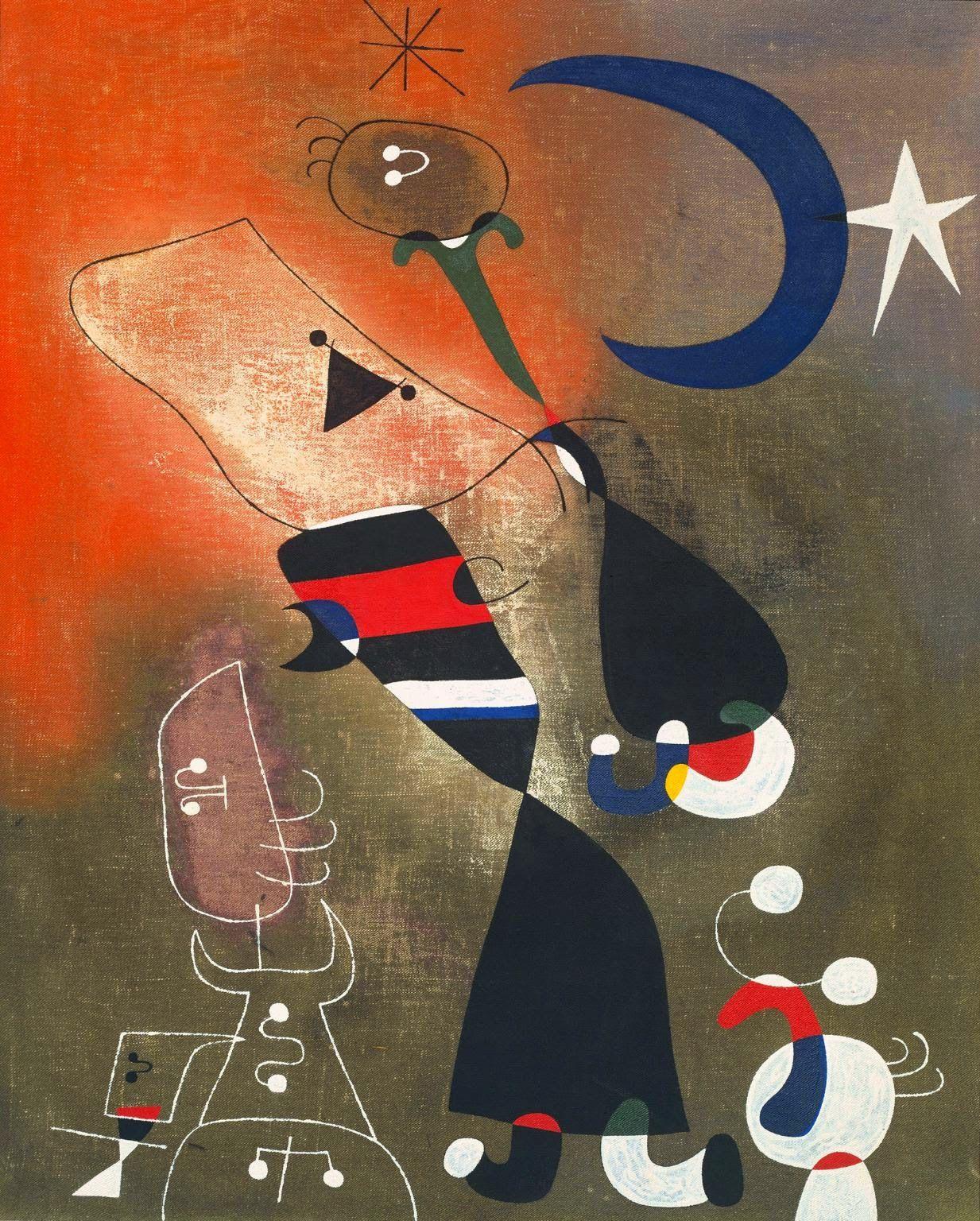 Joan Miró ~ Suas 5 principais pinturas