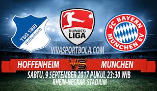 Prediksi Hoffenheim vs Bayern Munchen 9 September 2017