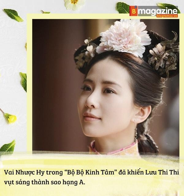 Lưu Thi Thi mờ nhạt ngày nào nay đã tỏa sáng thành 'Nữ thần cổ trang' tài sắc vẹn toàn - Ảnh 6