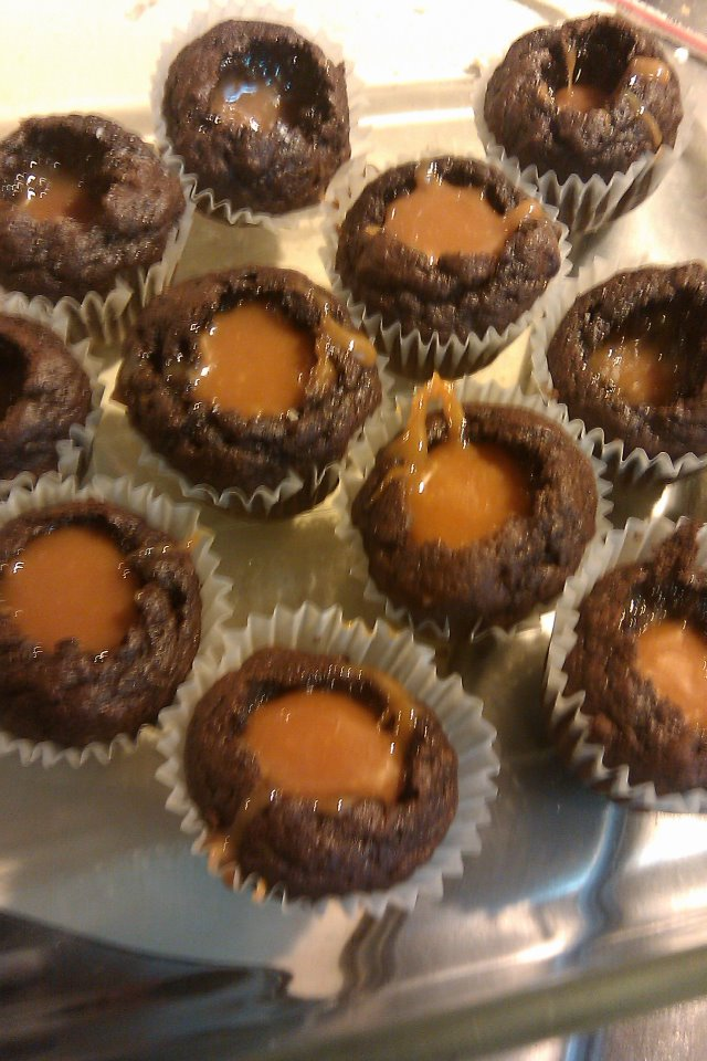 how to make caramel filling for cupcakes