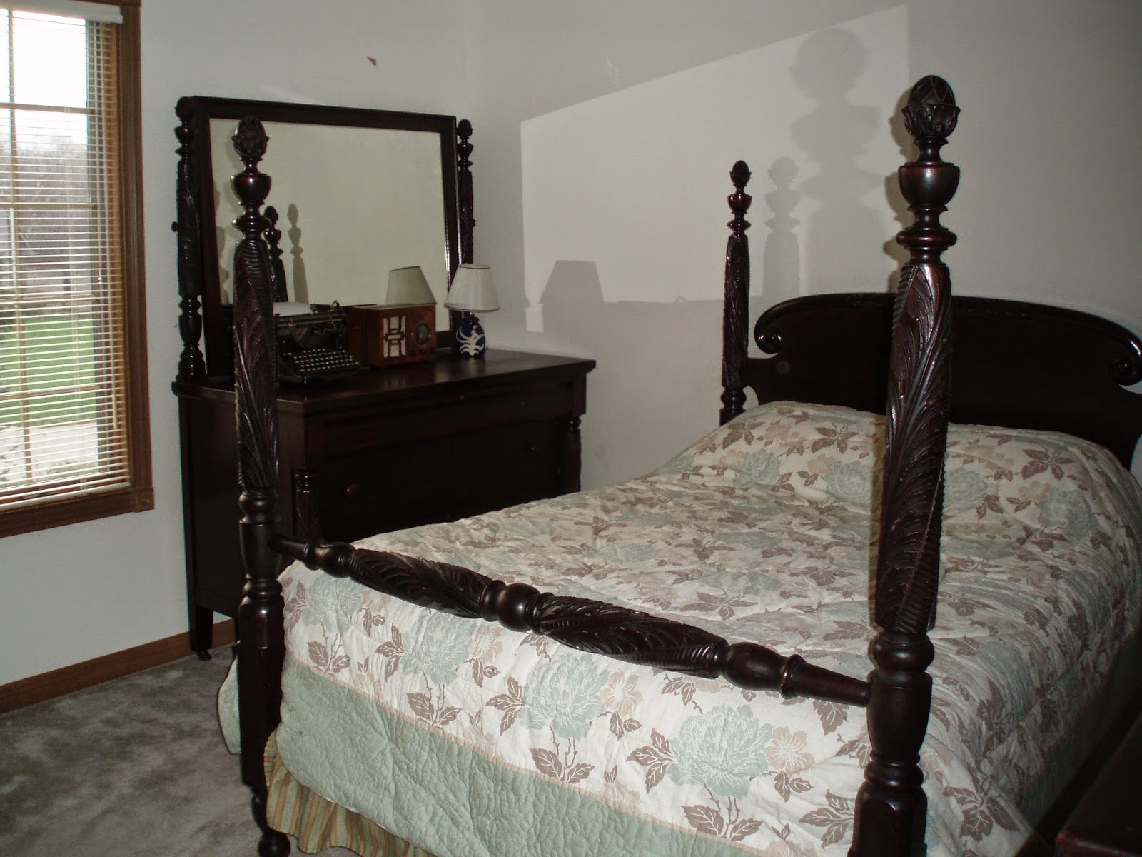Original Full Size Antique Bed