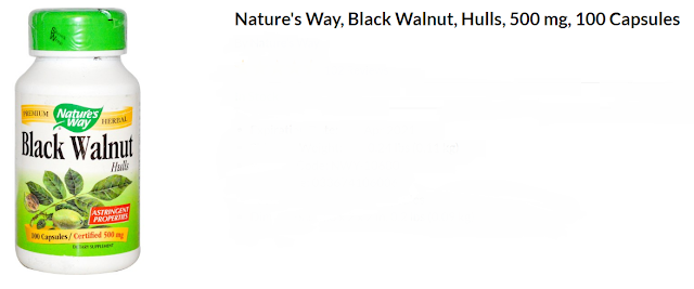 Total Carbohydrate 1 g <1%† Black Walnut (hull) 1 g (1,000 mg) **
