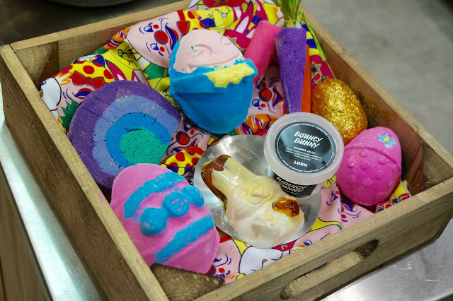 Lush Easter 2016 Products Middlesbrough