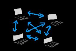 Pengertian Jaringan Peer to Peer dan Client Server Serta Kelebihan Dan Kelemahanya