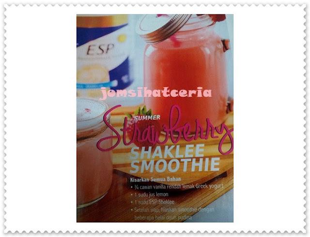 Resepi, Info, Kongsi, Independent SHAKLEE Distributor, Pengedar Shaklee Kuantan, Produk SHAKLEE, ESP,