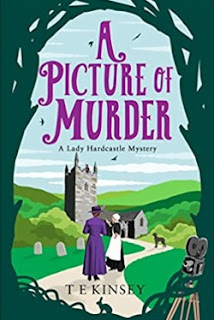 A Picture of Murder by T E Kinsey (Book cover)