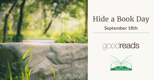 Hide a Book Day - September 18th 2017