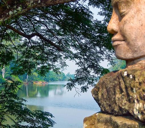 Baray at Angkor Wat