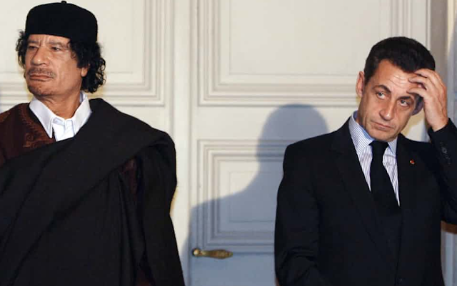Nicolas Sarkozy in police custody over Gaddafi allegations