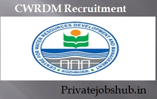CWRDM Recruitment