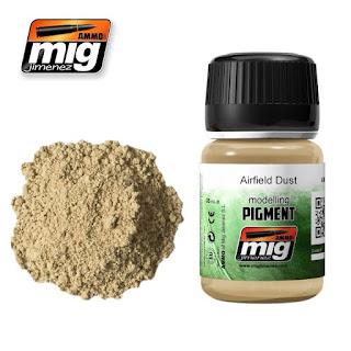 AMMO of Mig Jimenez Pigment - Airfield Dust (35ml)