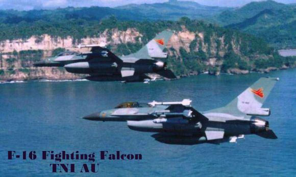 F-16 Fighting Falcon TNI AU