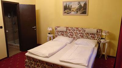 Una escapada a Viena: habitación del hotel