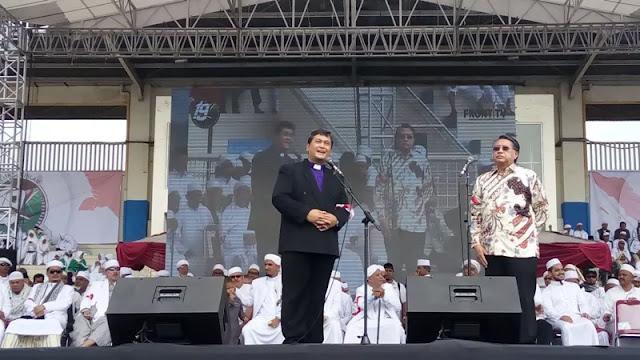 Alasan Mengejutkan Ketua Persekutuan Gereja Mau Hadiri Milad FPI
