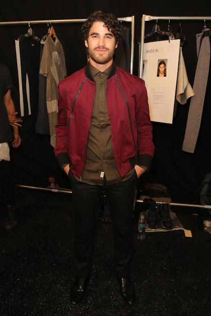Darren+criss+fashion+week+2015