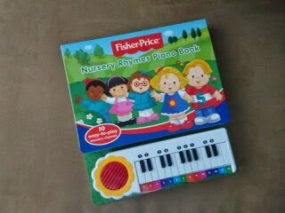3 Fisher Price Nursery Rhymes Piano Book From The Youngest Aunt