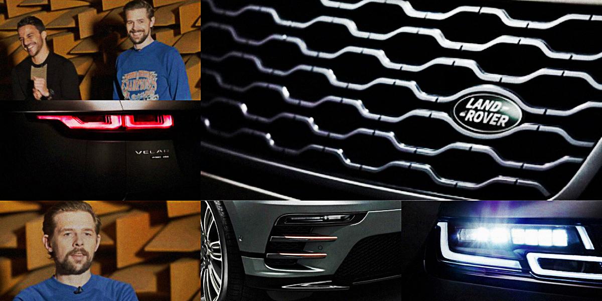 Klaas Heufer Umlauf und Kostja Ullmann sind total überrascht und beeindruckt vom neuen Range Rover Velar