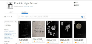 Internet Archive holds copies of the FHS Yearbooks