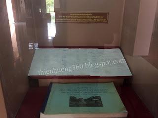 """Văn bản phê duyệt chấp thuận dự án """"Bảo tồn, tôn tạo và phát huy giá trị  lăng cụ Phó bảng Nguyễn Sinh Sắc"""""""