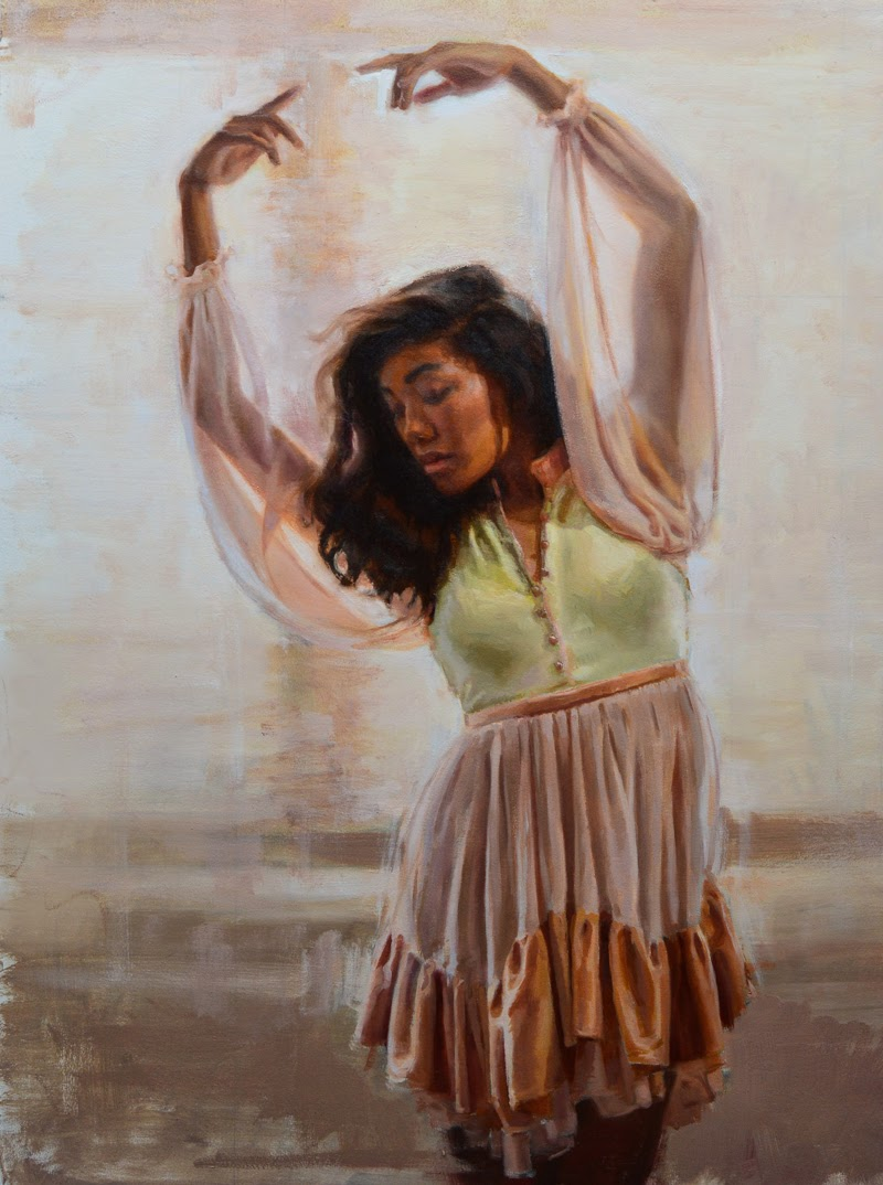 Figurative Paintings by Karen Bradley.
