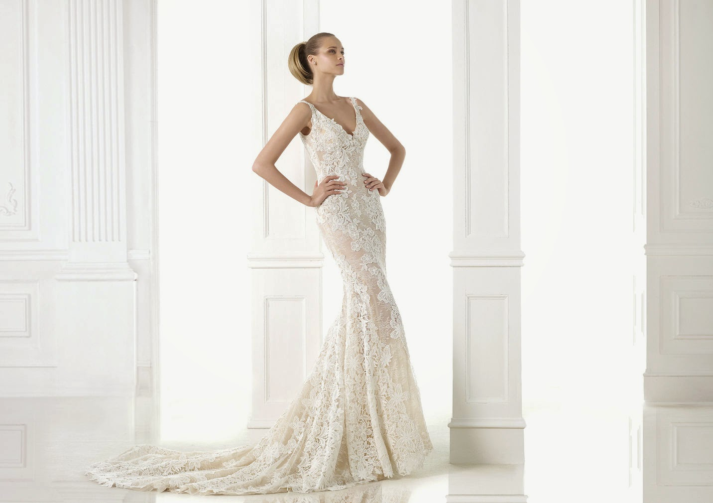 I Am A Woman In Love: 2015 Wedding Dresses: Lace Mermaid