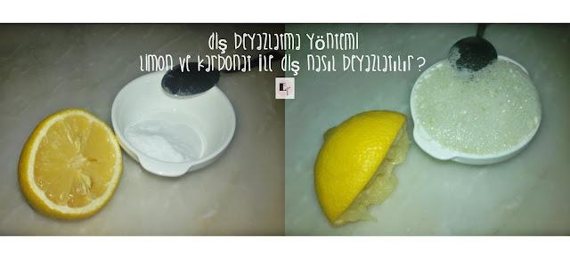 limon ve karbonat ile dis nasil beyazlatilir