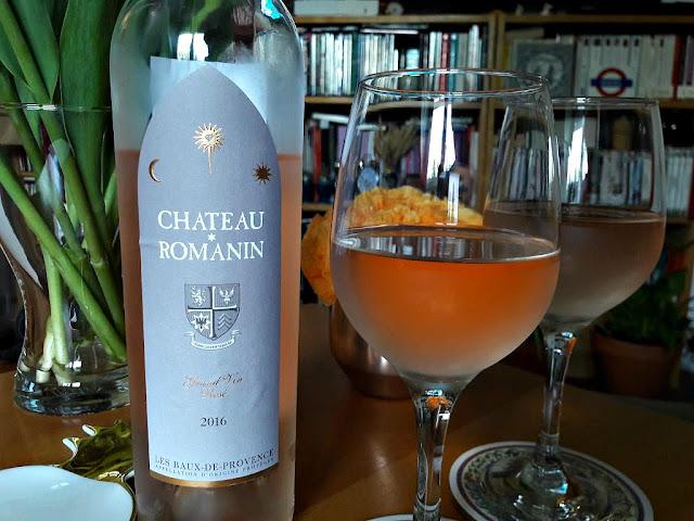 Vin rosé wine winelover apéro château romanin rosé de provence
