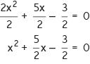 Cara mencari akar-akar persamaan kuadrat dengan cara melengkapkan kuadrat sempurna