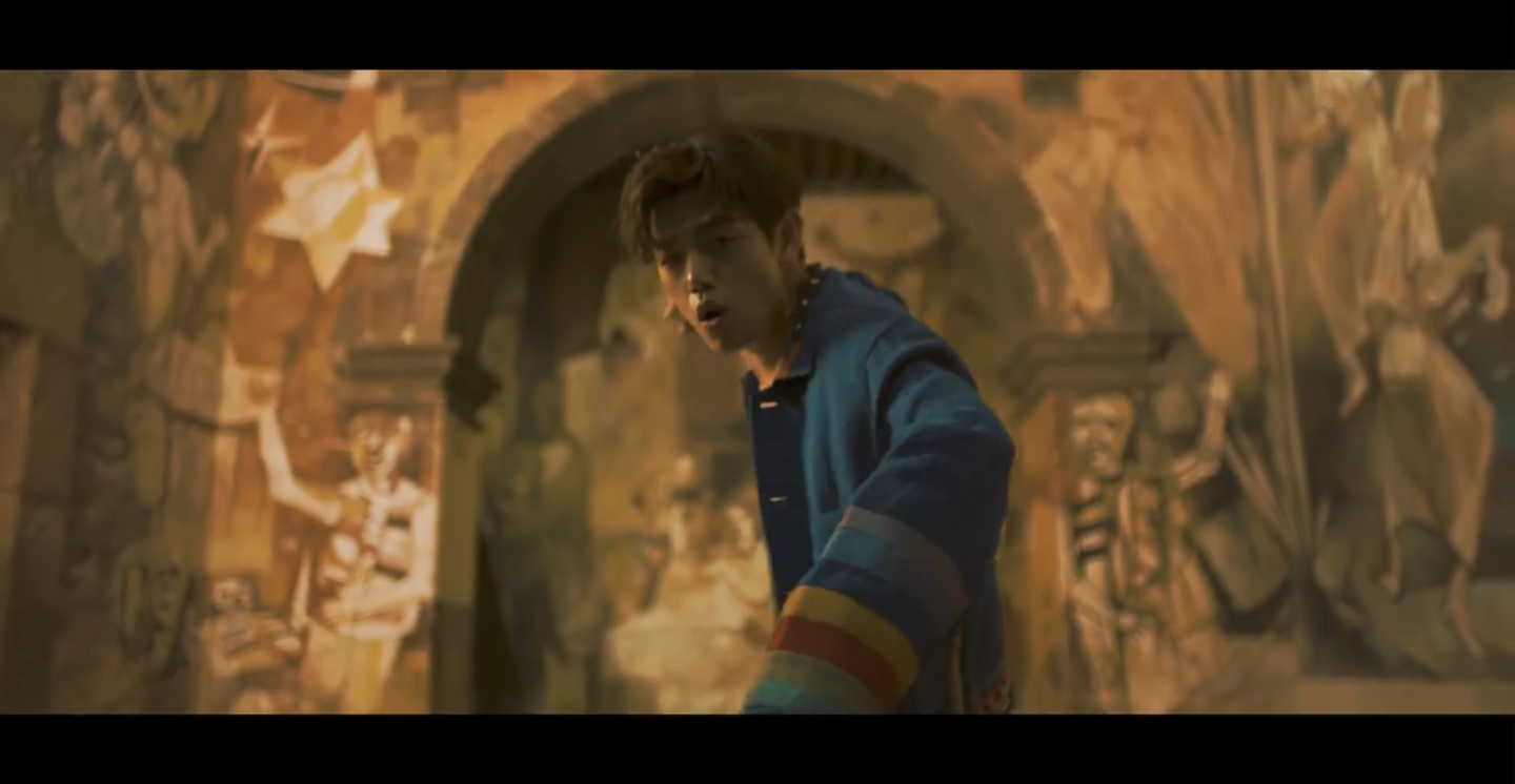 NEW VIDEO DROP: Eric Nam Dances To A Latin Beat in