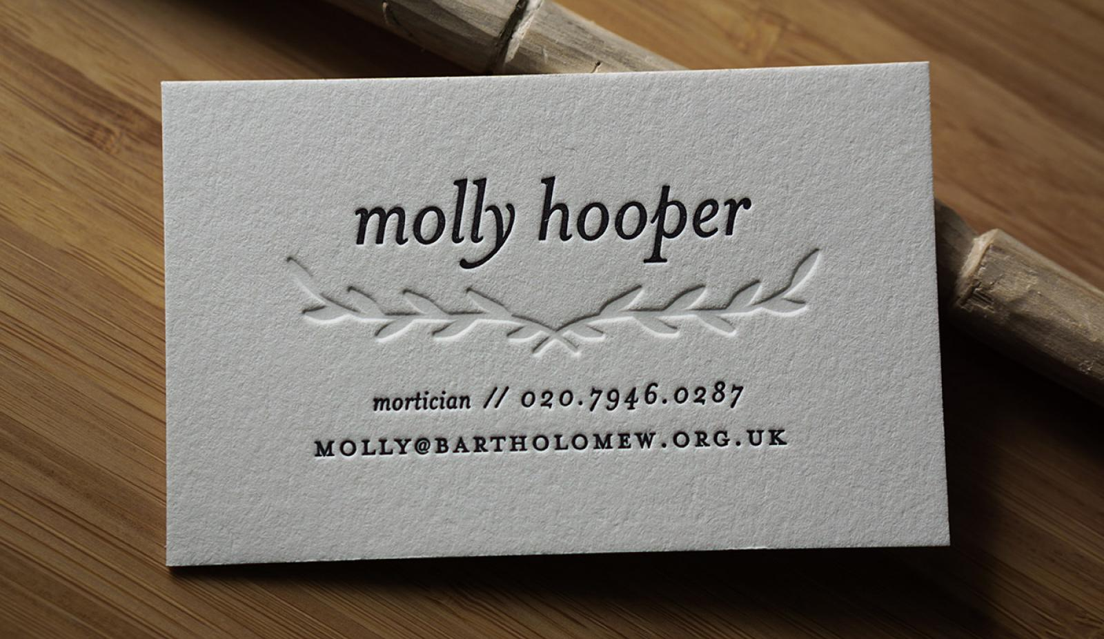 Letterpress Business Cards - Business Card Tips