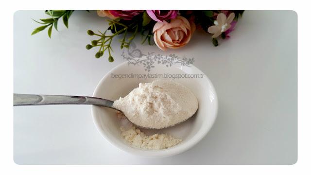 Tarçınlı doğal el peeling yapımı