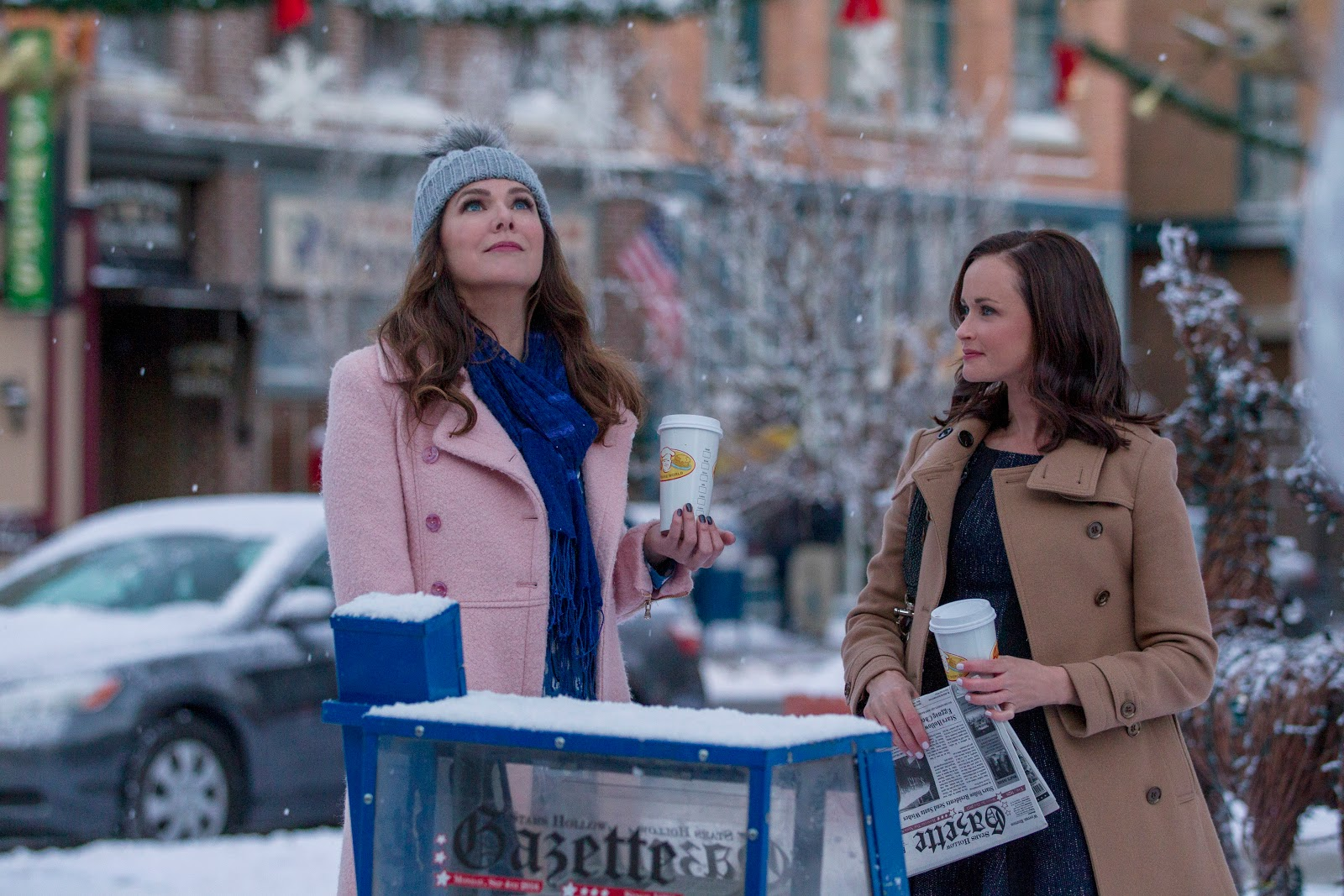 , Gilmore Girls- A Year in The Life:  The Countdown Begins