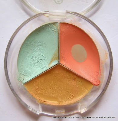 Essence Forget it! 3-in-1 Color Corrector Wheel