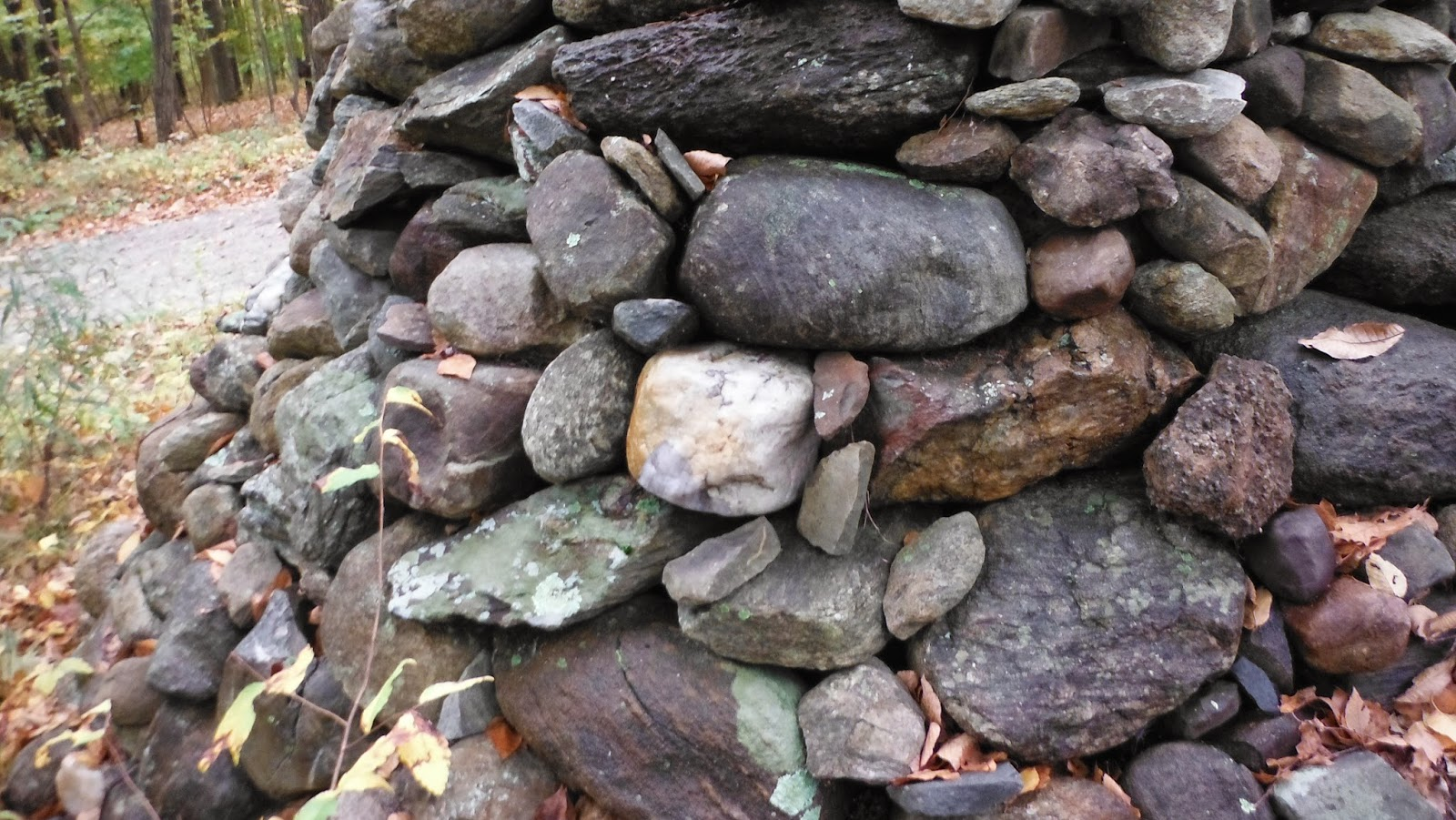 Rock Piles: Modern Stone Pile with Hollow