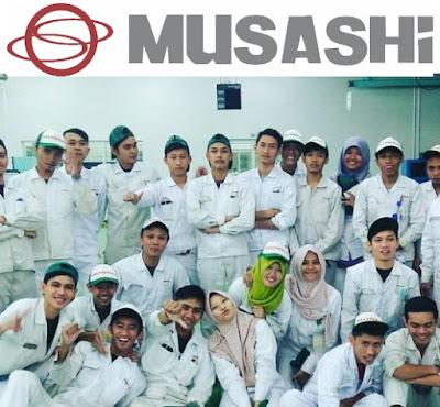 Lowongan Kerja Terbaru Jobs : Operator Produksi Min SMA SMK D3 S1 PT Musashi Autoparts Indonesia