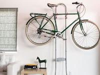 Asal Tahu Triknya, Sepeda Bisa Bikin Apartemen Tampil Artistik