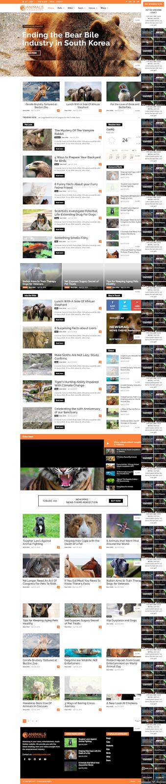 Magazine Responsive WordPress