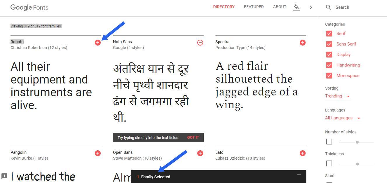 Blogger me Google fonts Kaise install kare ?