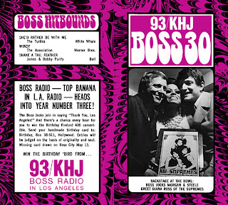 KHJ Boss 30 No. 96 - The Real Don Steele and Robert W. Morgan with Diana Ross