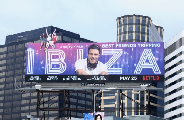 Ibiza movie extension cut-out billboard