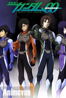 Mobile Suit Gundam 00 SS2 -  2013 Poster