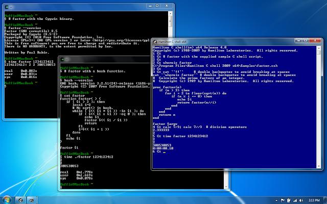 Cygwin - חלון לינוקס/ יונקס במערכת הפעלה Windows