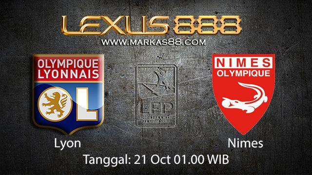 Prediksi Bola Jitu Lyon vs Nimes 21 Oktober 2018 ( French Ligue 1 )