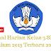 Jurnal Harian Kelas 3 SD/MI Kurikulum 2013 Terbaru 2018/2019 - Mutu SD