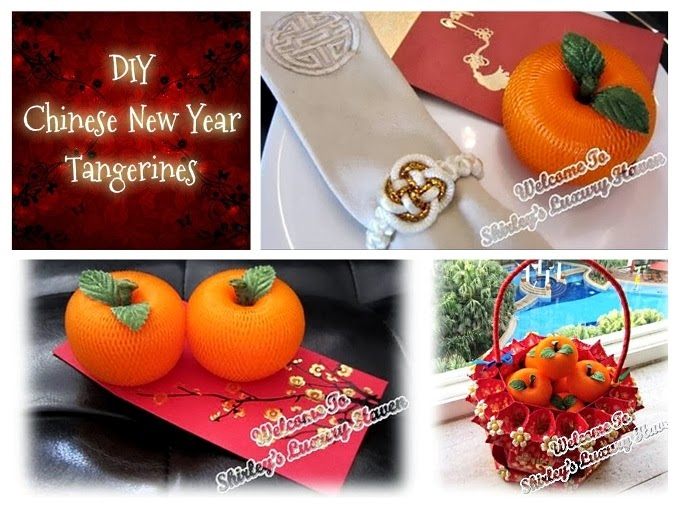 how to make chinese new year tangerines