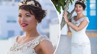 38χρονη γυναίκα παντρεύτηκε τον εαυτό της στη Σαντορίνη