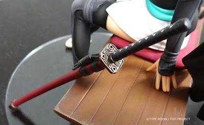 "Foto Teaser de Saber/Souji Okita de ""Fate/Grand Order"" - Wing"