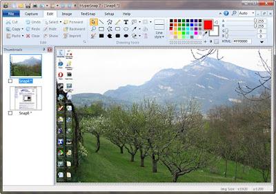 تحميل برنامج تصوير شاشة الكمبيوتر HyperSnap اخر اصدار