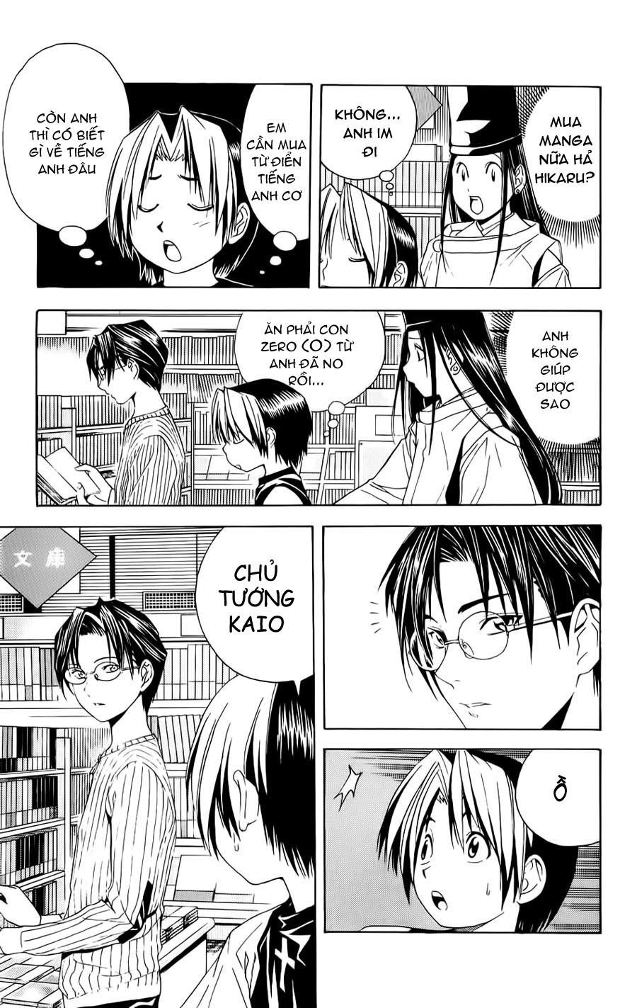 Hikaru No Go hikaru no go chap 39 trang 18