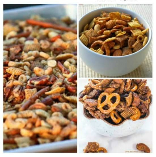The BEST Slow Cooker Chex Mix Recipes from Food Bloggers found on SlowCookerFromScratch.com